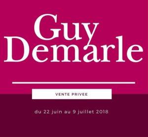 Vente privée Guy Demarle